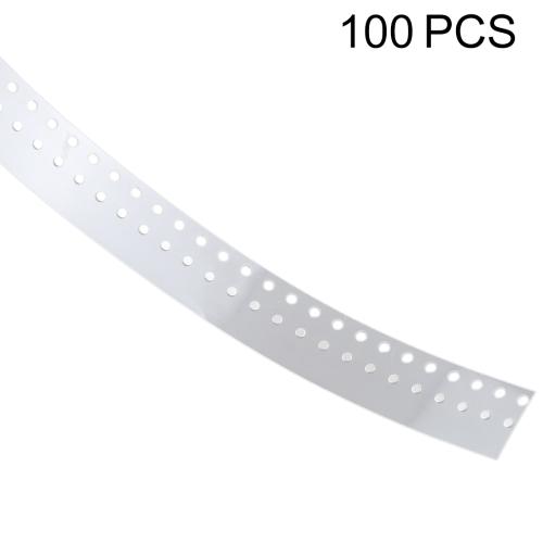 100 PCS 0.43mm Side Keys Pad for iPhone 7 & 7 Plus