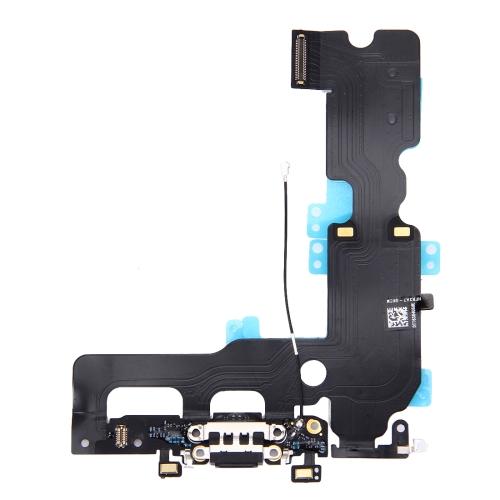 Charging Port Flex Cable for iPhone 7 Plus (Black)