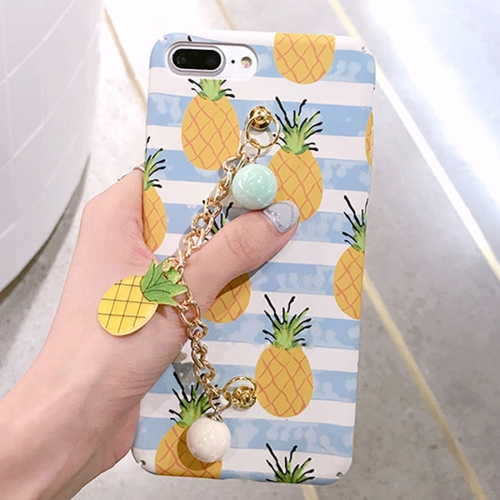 Buy For iPhone 8 Plus & 7 Plus Summer fruit pattern Acrylic Protective Case with Chain for $4.21 in SUNSKY store