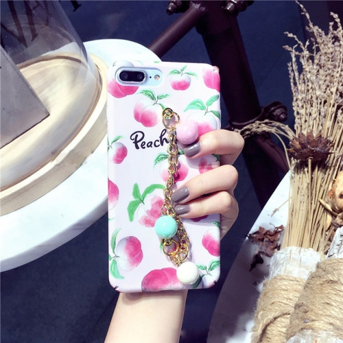 Buy For iPhone 8 Plus & 7 Plus Summer fruit pattern Acrylic Protective Case with Chain for $4.20 in SUNSKY store