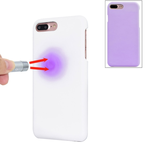 Buy For iPhone 8 Plus & 7 Plus Light Sensation Change Color Protective Case Back Cover, Purple for $2.56 in SUNSKY store