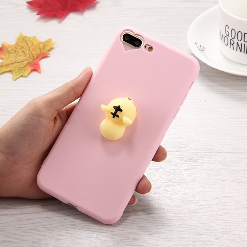 Buy For iPhone 8 Plus & 7 Plus 3D Tiger Pattern Squeeze Relief Squishy Dropproof Protective Back Cover Case for $1.40 in SUNSKY store