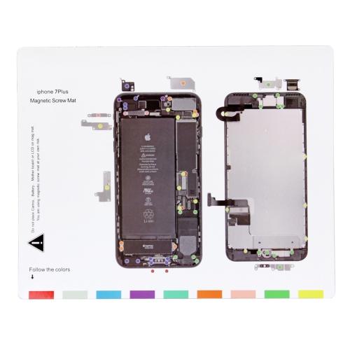 Magnetic Screws Mat For iPhone 7 Plus , Size: 24.5cm x 20cm