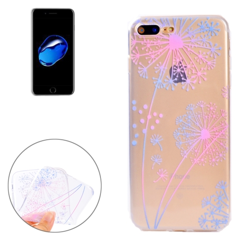 Buy For iPhone 8 Plus & 7 Plus Colorful Dandelion Pattern Soft TPU Protective Case for $1.13 in SUNSKY store