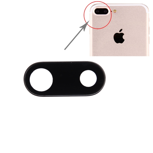 Back Camera Lens for iPhone 7 Plus(Black)