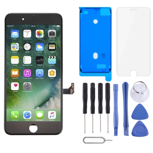 LCD Screen and Digitizer Full Assembly for iPhone 7 Plus(Black)