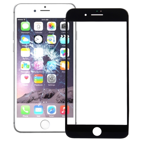 Front Screen Outer Glass Lens for iPhone 7 Plus (Black)