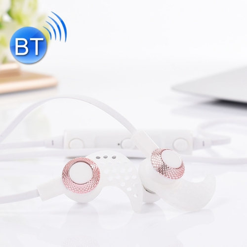 BT-16 Wireless Bluetooth In-ear Headphone Sports Music and Movement Counterparts Headset with Microphones
