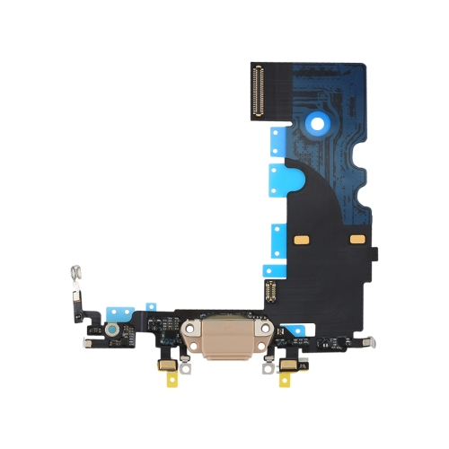 Charging Port Flex Cable for iPhone 8 (Gold)