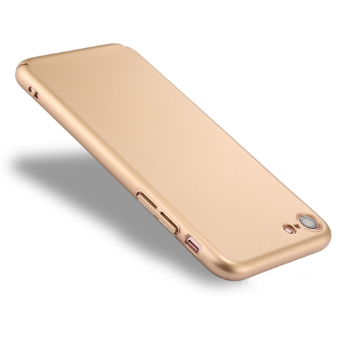 Buy For iPhone 8 & 7 Fully Wrapped Drop-proof PC Protective Case Back Cover, Gold for $1.28 in SUNSKY store