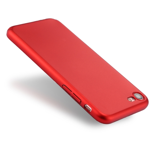 Buy For iPhone 8 & 7 Fully Wrapped Drop-proof PC Protective Case Back Cover, Red for $1.28 in SUNSKY store