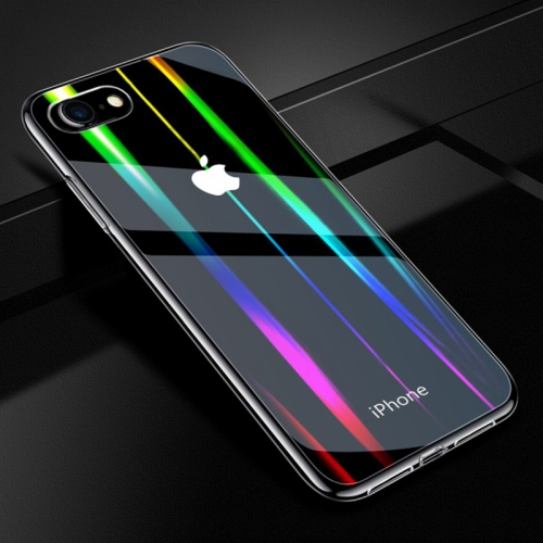 Twilight Transparent Glass Case for iPhone 8 & 7