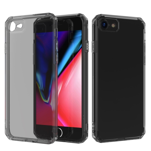 Shockproof Octagonal Airbag Sound Conversion Hole Design TPU Case for iPhone 8 & 7 (Black)