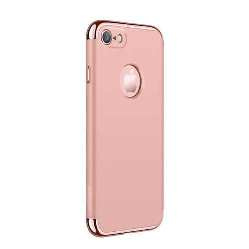 Buy JOYROOM Ling Series for iPhone 8 & 7 Three-segment Electroplating PC Protective Back Cover Case (Rose Gold) for $4.47 in SUNSKY store