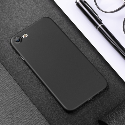 CAFELE Chiffon Series For iPhone 8 & 7 PP Ultra-slim Matte Protective Back Cover Case (Black) protective matte aluminum alloy back case cover w pc abs inner case for iphone 5 5s black