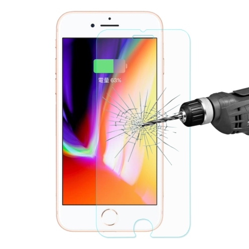 ENKAY for iPhone 8 & 7 0.26mm 9H Hardness 2.5D Curved Tempered Glass Screen Film