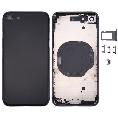 Back Housing Cover for iPhone 8 (Black)