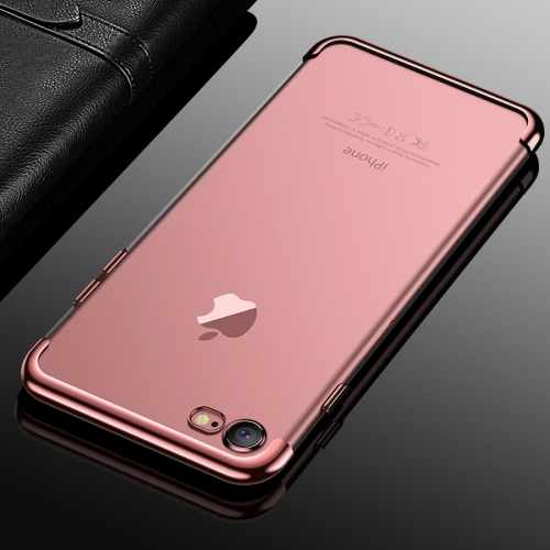 Buy CAFELE For iPhone 8 & 7 Color Electroplating TPU Soft Protective Back Cover Case (Rose Gold) for $3.28 in SUNSKY store