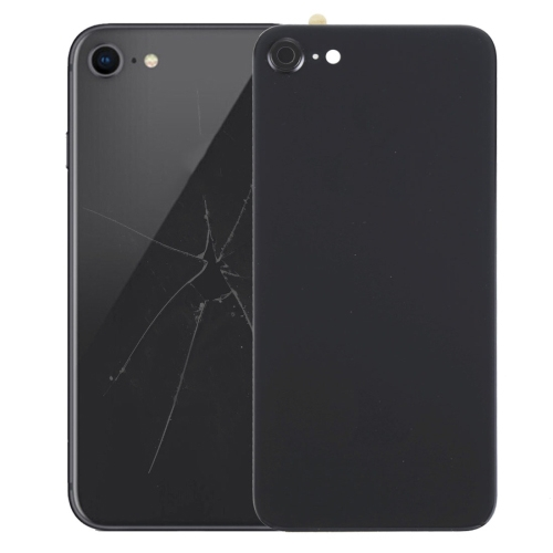 Back Cover with Adhesive for iPhone 8 (Black)