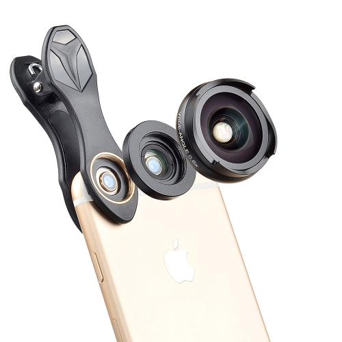 Gadget Place Variable ND Filter Polarizer Closeup Lens Kit for Lenovo S5 Pro