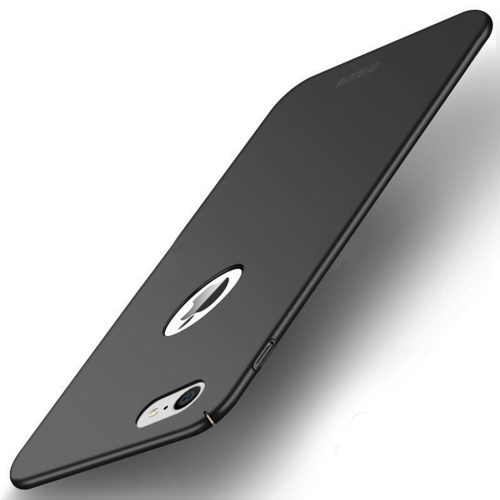 MOFI for iPhone 8 Frosted PC Ultra-thin Edge Fully Wrapped Up Protective Case Back Cover (Black) moskii brand ultra thin protective pc backcase cover for zte nubia x6