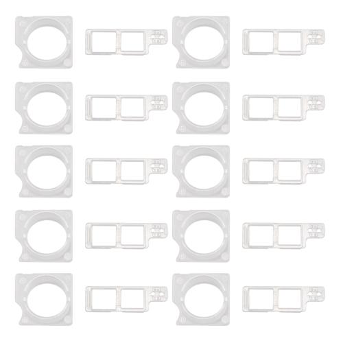 10 Sets for iPhone 8 Front Facing Camera Module Bezel + Sensor Retaining Bracket