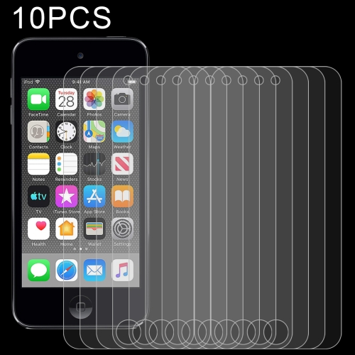 10 PCS 0.26mm 9H 2.5D Tempered Glass Film for iPod touch 7