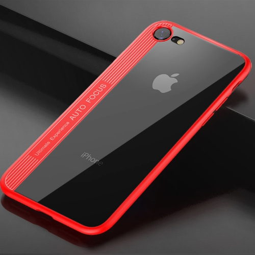 Buy TOTUDESIGN for iPhone 8 & 7 TPU + PC Dropproof Protective Back Cover Case, Red for $3.44 in SUNSKY store