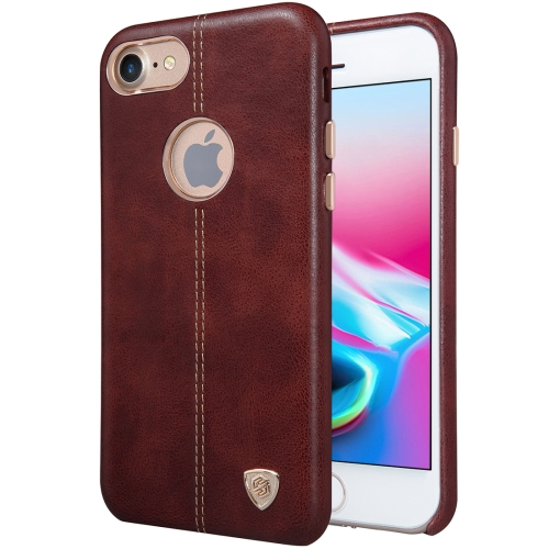 Buy NILLKIN Englon Case for iPhone 8 Business Style Crazy Horse Leather Surface Protective Case, Brown for $6.49 in SUNSKY store