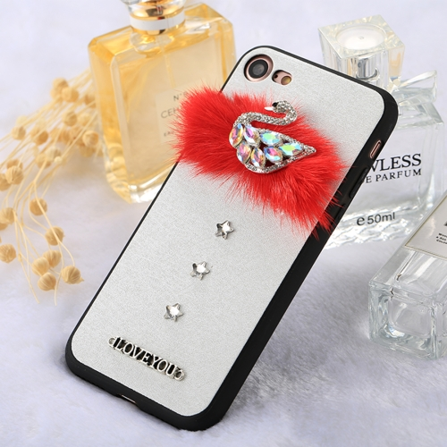 Buy Fevelove for iPhone 8 & 7 3D Diamond Sika Deer Pattern Soft TPU Protective Case for $3.11 in SUNSKY store