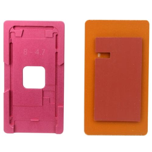Repair Precision Screen Refurbishment Aluminium Alloy Mould Molds For iPhone 8(Pink)