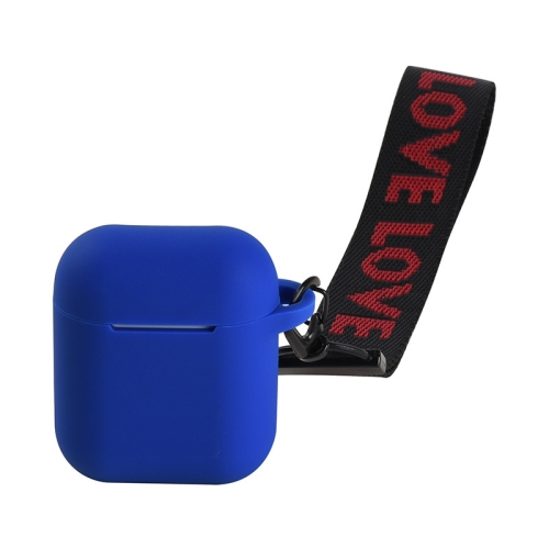 Anti-lost Running Holder Band Protector for Apple Airpod Earphone 40cm Blue