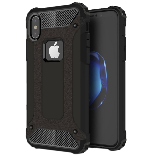 For iPhone X / XS Magic Armor TPU + PC Combination Case(Black) фото