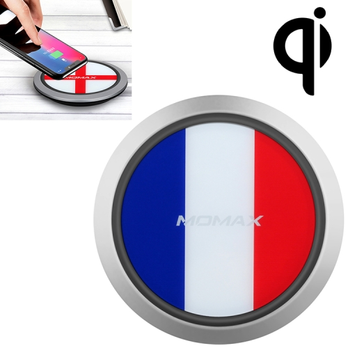Momax France Pattern Creative Qi Standard Fast Charging Wireless Charger