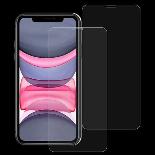 2 PCS 0.26mm 9H 2.5D Tempered Glass Film for iPhone XR