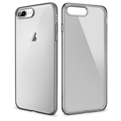 ESR Essential Zero Series 0.8mm Ultra-thin Shockproof Soft TPU Case for iPhone 8 Plus / 7 Plus(Black)