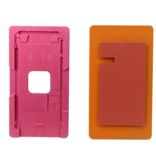 Repair Precision Screen Refurbishment Aluminium Alloy Mould Molds For iPhone 8 Plus(Pink)