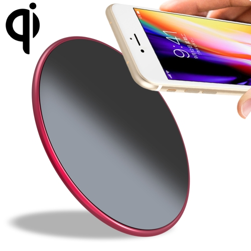 [HK Stock] UMIDIGI Q1 10W Fast Charging Qi Wireless Charger Pad with Data Cable, For iPhone, Galaxy, Huawei, Xiaomi, LG, HTC and Other Smart Phones(Red)
