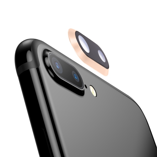 Rear Camera Lens Ring for iPhone 8 Plus (Gold)