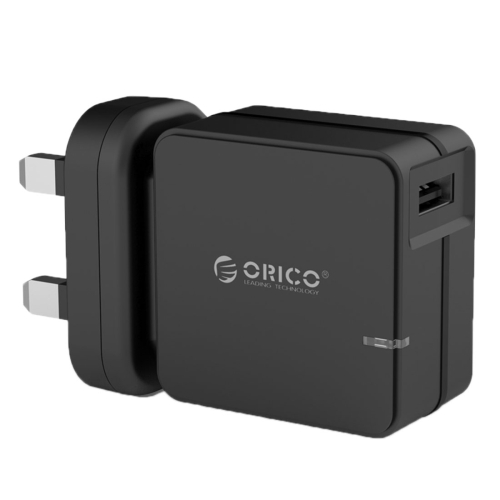 Buy ORICO QCW-1U Single Port Travel Wall Charger With Qualcomm Quick Charge 2.0, UK Plug for $10.15 in SUNSKY store