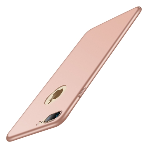 JOYROOM CHI Series for iPhone 8 Plus & 7 Plus PC Full Coverage Protective Back Cover Case (Rose Gold)