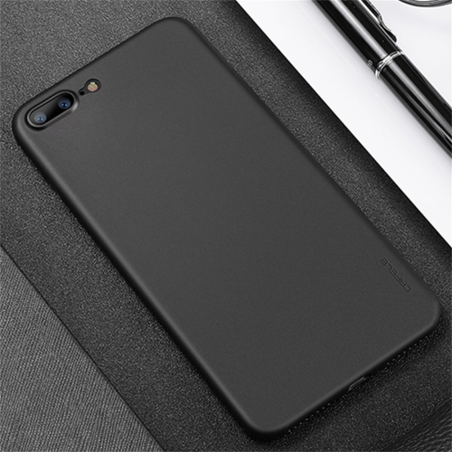 CAFELE Chiffon Series For iPhone 8 Plus & 7 Plus PP Ultra-slim Matte Protective Back Cover Case (Black) baseus little devil case for iphone 7 black