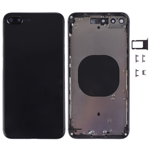 Plus Back Housing Cover for iPhone 8 (Black)