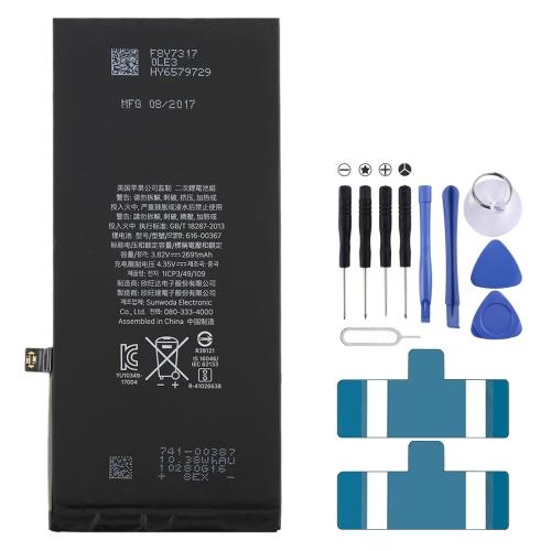 2691mAh Li-ion Battery for iPhone 8 Plus