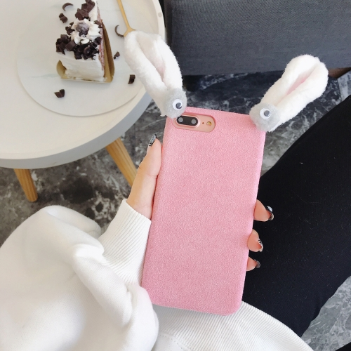 Buy For iPhone 8 Plus & 7 Plus Cute Plush Rabbit Ear Style Protective Back Case for $3.69 in SUNSKY store