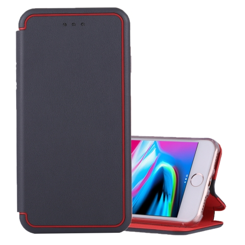 Buy For iPhone 6 Plus & 6s Plus & 7 Plus & 8 Plus Ultra-thin Magnetic Horizontal Flip Shockproof Protective Leather Case with Holder & Card Slot, Grey for $3.74 in SUNSKY store