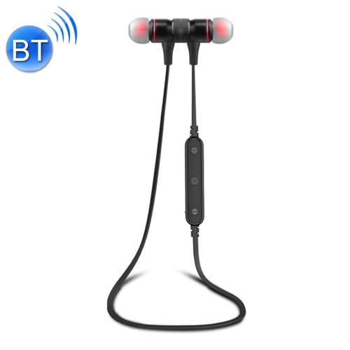 AWEI B922BL Sports Bluetooth V4.2 Earphone Wireless Stereo Headset with Mic, For iPhone, Samsung, Huawei, Xiaomi, HTC and Other Smartphones (Black) mini twins bluetooth earphone airpods true tws wireless stereo headset earbuds with mic charge box for iphone samsung xiaomi