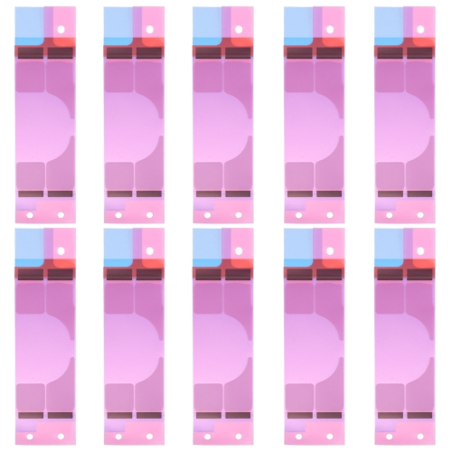 10 PCS for iPhone 8 Plus Battery Adhesive Tape Stickers