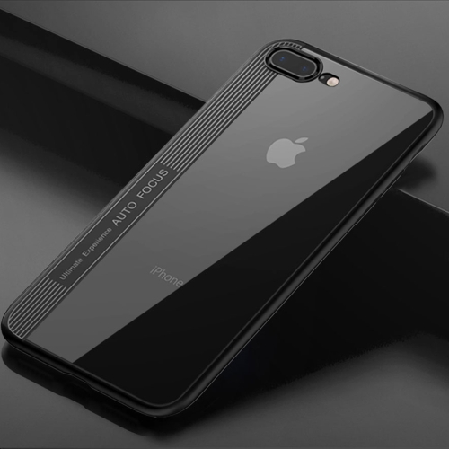 Buy TOTUDESIGN for iPhone 8 Plus & 7 Plus TPU + PC Dropproof Protective Back Cover Case, Black for $3.44 in SUNSKY store