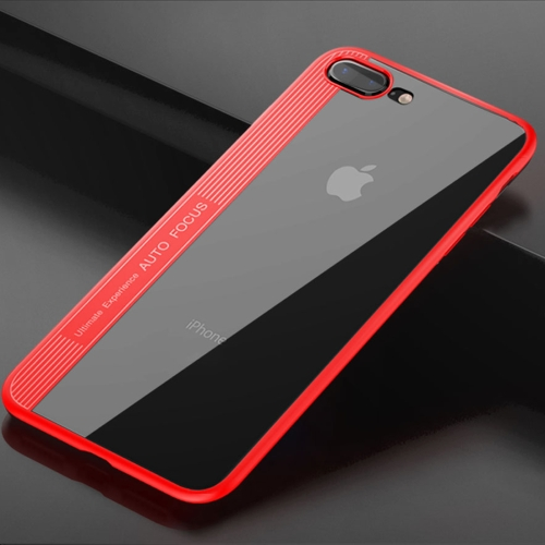 Buy TOTUDESIGN for iPhone 8 Plus & 7 Plus TPU + PC Dropproof Protective Back Cover Case, Red for $3.44 in SUNSKY store